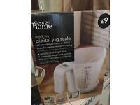 Kitchen scales digital jar