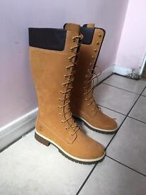 Timberland woman's high waterproof boots