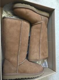 Official UGG TALL Boots Chestnut U.K. 5.5