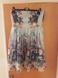 Beautiful Floral Coast dress size 12 never worn.