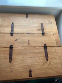 Solid wooden storage unit £120