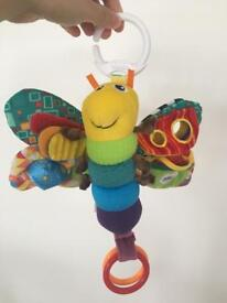 Lamaze butterfly baby toy
