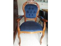 Carver dining chair/ dressing table chairo