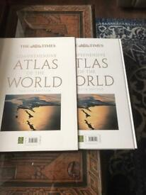 The Times atlas of the world 12th edition (can deliver)