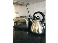 Russell and Hobbs kettle and toaster