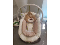 """Mothercare """"Loved so Much"""" Teddy Baby Bouncer"""