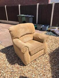 2 x Large Arm Chairs