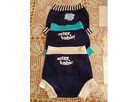 3 Baby swimming pool diapers in very good condition!