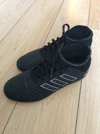 Adidas black predators sock boots Astros size 4