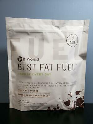It Works! Best Fat Fuel 14 Chocolate Mousse Packets - New! Exp