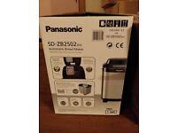 Panasonic sd-zb2502bxc bread maker