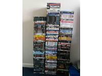 Over 200 dvds joblot sale