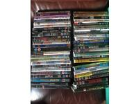 Job lot of dvds and few games