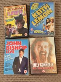 Comedy DVDs bundle