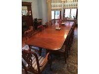 Beautiful 12 seater solid wood dining table