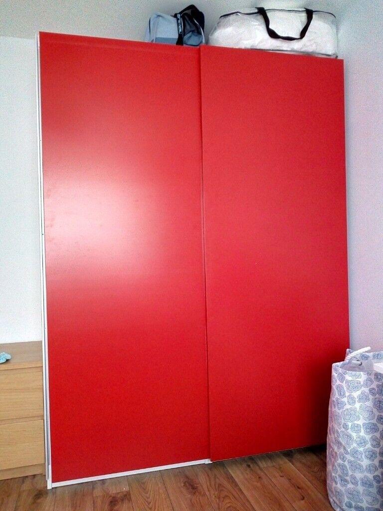 Ikea Hasvik Pair Of Sliding Doors - Sliding Door Design Ideas
