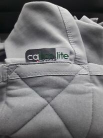 BuyClose Caboo Lite Baby Carrier, Khaki: AS NEW