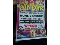 Bonnybridge funfair