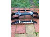 BMW 1 series 2017 front bumper and beem with foam