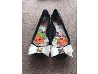 Ted Baker Jelly shoes size 4