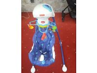 Fisher Price musical baby rocker