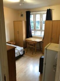 Double room for single use opposite Hammersimith station