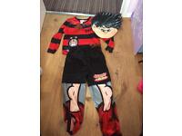 Dennis the menace dress up costume 5-6 years