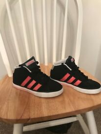 Adidas high tops. Size 1