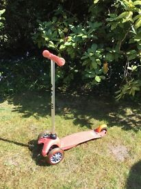 Mini Micro scooter good condition