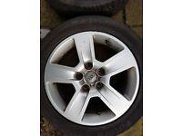 "audi 5 spoke alloy wheels 16"" sell or swap for drone"