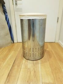 Brabantia Stainless Steel Laundry Bin with Cloth Liner