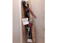 Cordless hedge trimmer/chain saw