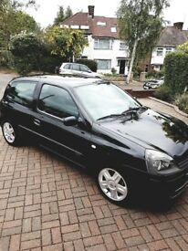 Renault Clio 1.2L Petrol Manual 3dr Sport Hatchback - Very good condition - Low millage 56,000 miles
