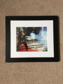 Original Signed Scarface Poster