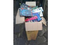 Huge box of 180+ DVDs