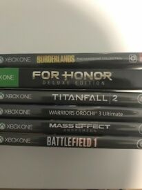 Various Xbox One Games for sale
