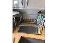 Ikea rack kitchen