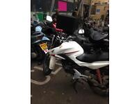 Honda cb cbr 125cc 2016 excellent condition Quick sale
