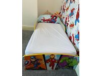 Marvel toddler bed