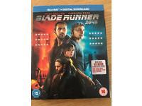 Blade Runner 2049 Blu Ray Sealed New