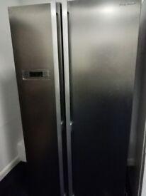 Brand New Kenwood American style fridge freezer KSBSX17 Unused Silver RRP £499