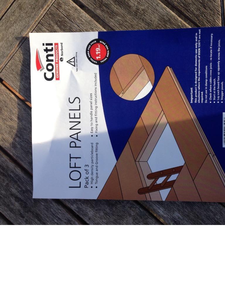 Loft flooring panels Wickes 30 packs in Pinner London  : 86 from gumtree.com size 768 x 1024 jpeg 101kB