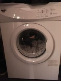 Bush 7kg vented tumble dryer from smoke free home