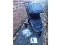 Baby Jogger City Mini GT Single Black / Charcoal