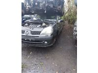 2006 RENAULT CLIO 1.2 BREAKING FOR PARTS