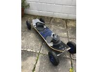 Mountain board in excellent condition