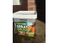 Ronseal Fencelife Spray or Brush