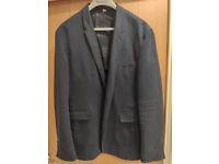Burberry Navy Blazer XL