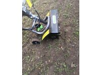 Rotavator/ mini tiller comes with 11 months warranty remaining