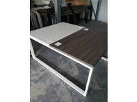 Very stylish and modern 2 person office desks 1200mm each desk
